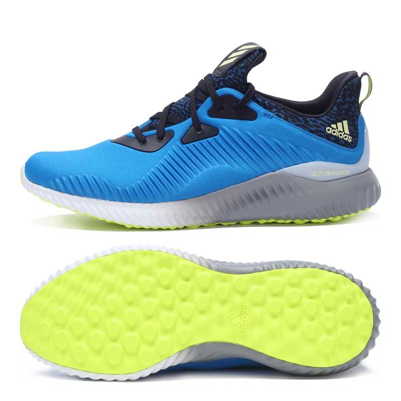 a5352690bbd ... Original Authentic Adidas Alphabounce M Men s Running Shoes Sneakers  Breathable Tennis Shoes Men Classic Sports Outdoor