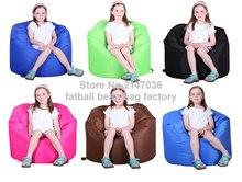 Outdoor bean bag chair, waterproof Solid color beanbag sofa furniture – Beach patio hammock sofas sac
