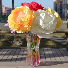 5pcs Artificial Silk Peony Squid Flower Bouquet Single Home Wedding Party Holiday Decoration Gift DIY