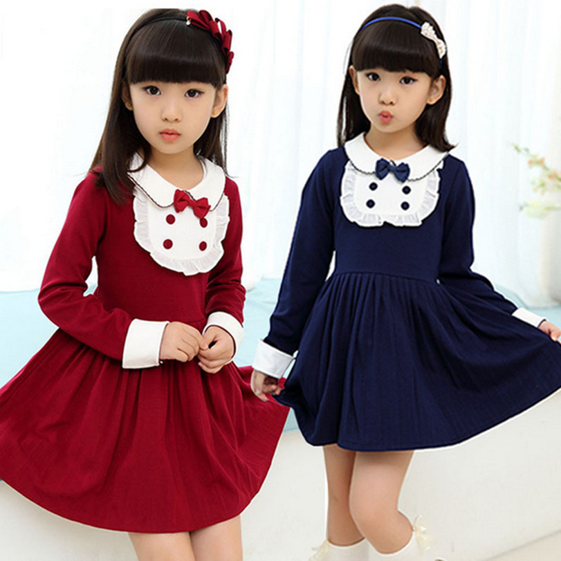 2016 new spring and autumn style girls childrens clothes