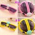 Children Beatles sunglasses 2016 Retro Anti-UV400 Sun Glasses 2-8 years old Eyewear Gafas Oculos De
