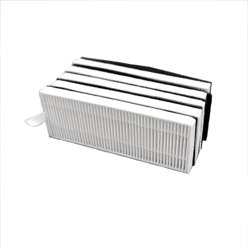 10 Teile/los Weiß HEPA-Filter Schwarz Schaum Filter Relacement für Eufy RoboVac 11 + 11Plus Robotic Staubsauger Teile zubehör