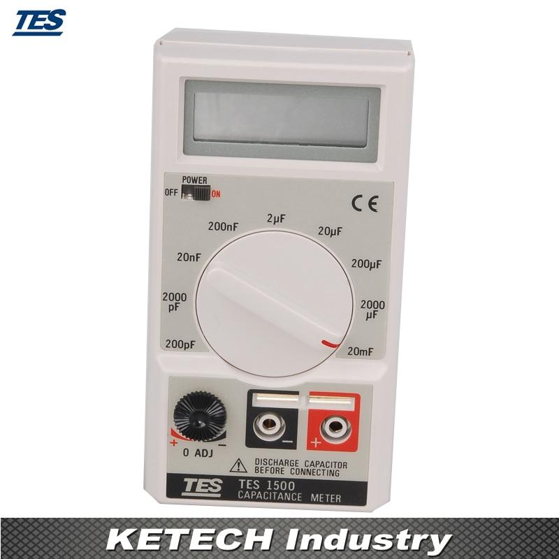 TES1500 Capacitance Meter Tester