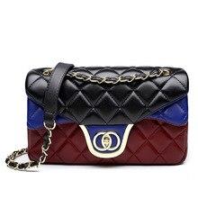 2017 New Top Fashion Luxury Handbags Women Bags Designer Leather Casual Flap Single Shoulder Bag Lady Female Crossbody