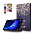 T580 T585 Case for samsung galaxy tab A 10.1 SM-T580 SM-T585 10.1'' tablet PU leather print case + screen protector as gift