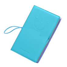 Retro Notebook Memo Daily Emoticon Leather Book Blocks Pocket Notes
