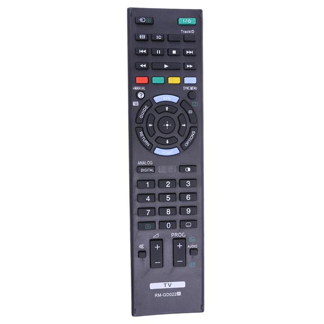 Replacement TV Remote Control for SONY RM GD022 RM GD023