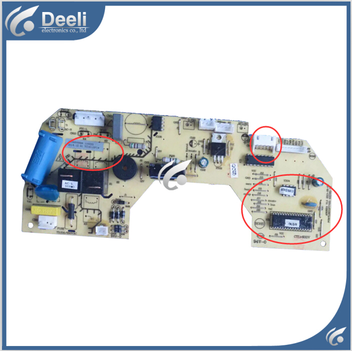 95% new good working Original for air conditioning Computer board TL32GGFT7021-KZ PCBTL32GGFT7021-KZ board original good working for tcl air conditioning computer board used circuit board tcl32ggft808 kz