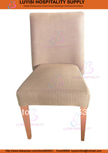 Metal Wood imitation Upholstered restaurant chair LUYISI973