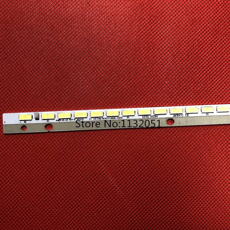LED47K560J3D   LED Backlight    6922L-0043A 6916L1009A  Article  Lamp  1pcs=66led 597mm