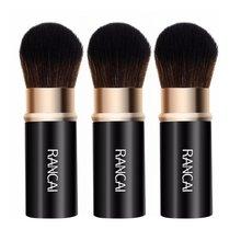 Telescop Intrekbare Make-Up Kwasten Powder Foundation Blush Gezicht Kabuki Borstel Maquiagem Make Up Cosmetische Tools Pro