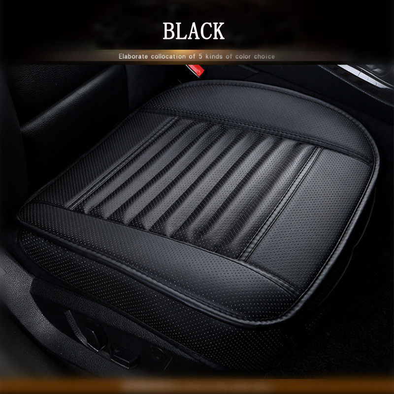 Universal Car Seat Cover Styling Four Seasons Leather Car Interior Seat cover Pad Seat Cushion Car Front Back Seat Cover