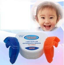 Kid's Dental Orthotics Alignment Tool Children's Dental Appliance Teeth Anti-molar Orthodontic Brace Tooth Care dental children removable deciduous teeth model permanent tooth alternative display studying teaching tool