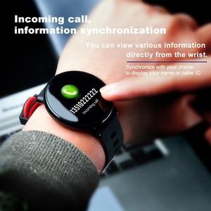 Image 1 - SENBONO K1 Smart Watch Men Women IP68 Waterproof Clock Activity Fitness tracker Heart rate monitor Smartwatch for IOS Android