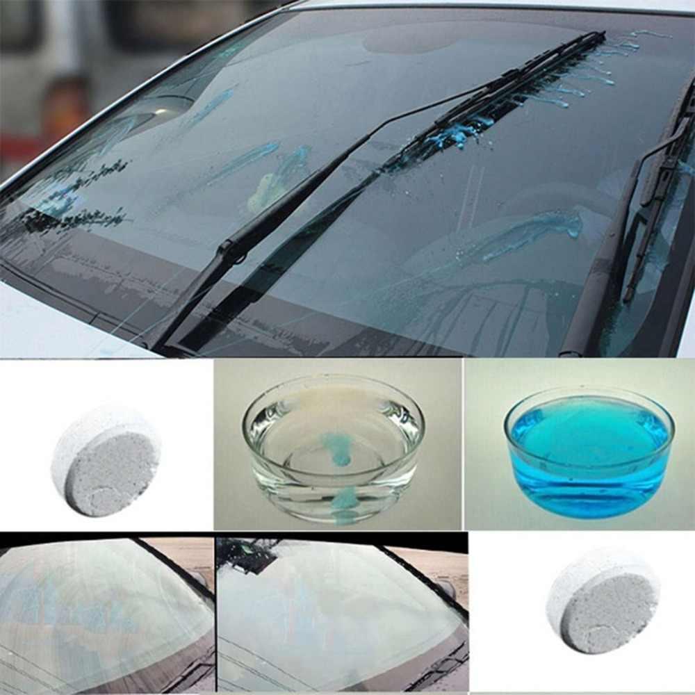 Автомобиль Твердый очиститель стекла высокой производительности чистящее средство для чистки автомобильных окон ветровое стекло автомобиля очиститель поставки с бутылкой Прямая поставка