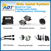 24 GHZ Microwave Automotive Radar Blind Spot Monitor Side Assist System fit for every vehicle