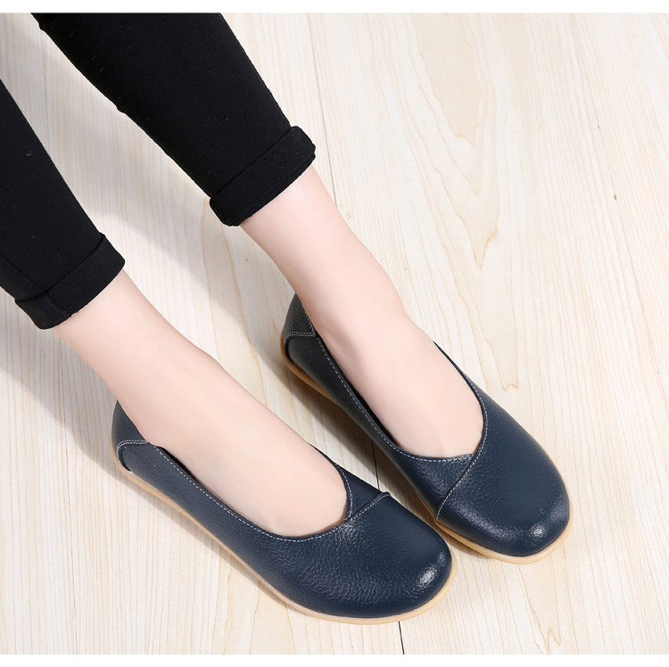 AH 5928-2019 Spring Autumn Woman Flats Casual Women Loafers-15