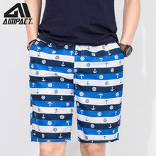 2019 New Mens Fashion Print Board Shorts Swimwears Summer Quick Dry Surf Beach Shorts Holiday Swim Trunks for Men Male AM2102(China)