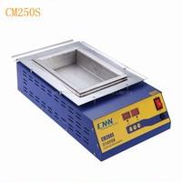 CM-250S Lead-free Double digital Solder Pot Soldering Desoldering Bath 110/220V Lead-free Double digital Solder Pot Machine 1PC