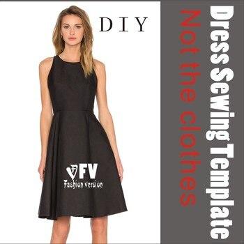 Kleidung DIY Das kleid Kleider Nähen Muster schneiden zeichnung ...