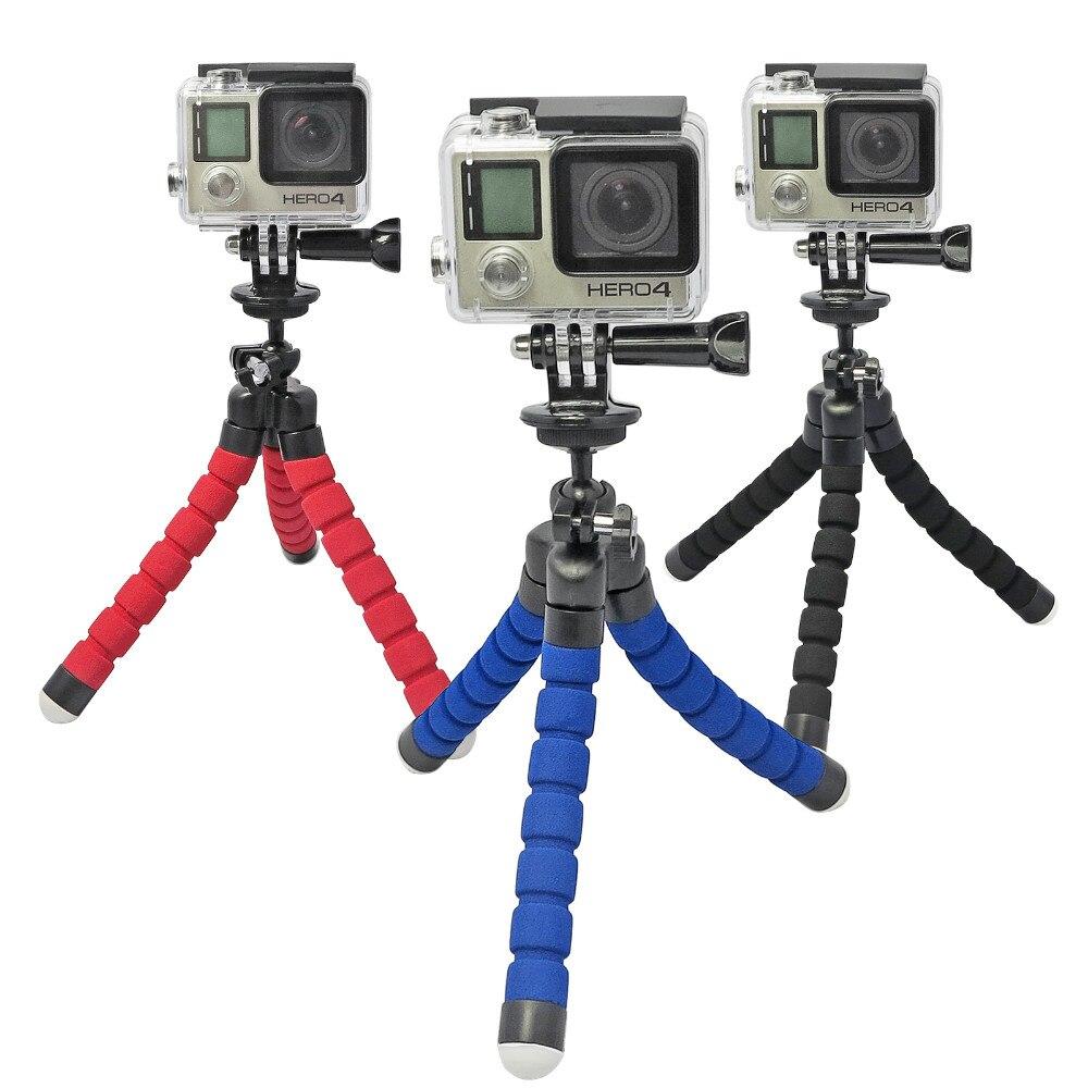 Go Pro Fleksibilna noga Mini stativ za Go pro Digitalni telefon i - Kamera i foto - Foto 6