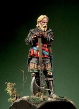 Scale Models 1 32 54mm Knight with War Axe 1330 50 54mm figure Historical WWII Resin