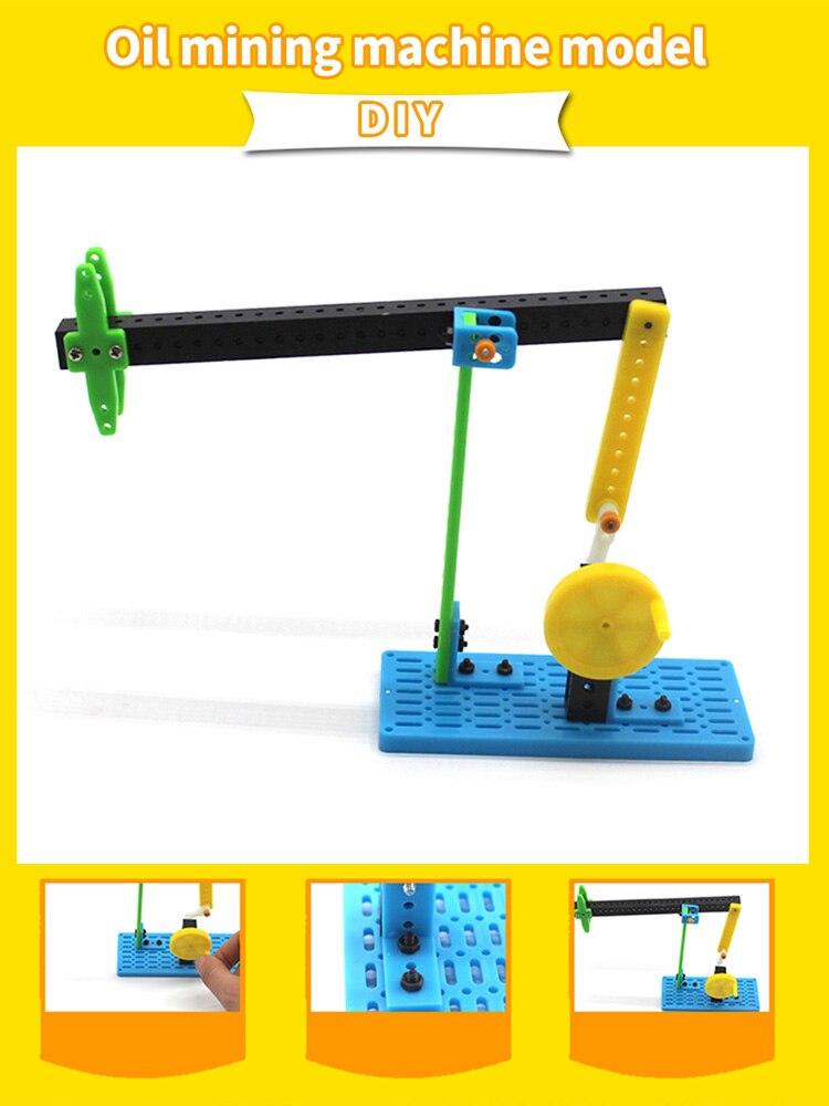 DIY научный эксперимент масляный насос топливная машина ручные игрушки подарок детский комплект изобретений ручные Стволовые образователь...