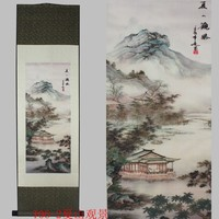 Chinese characteristics landscape painting, decorative painting, new special gifts, free shipping