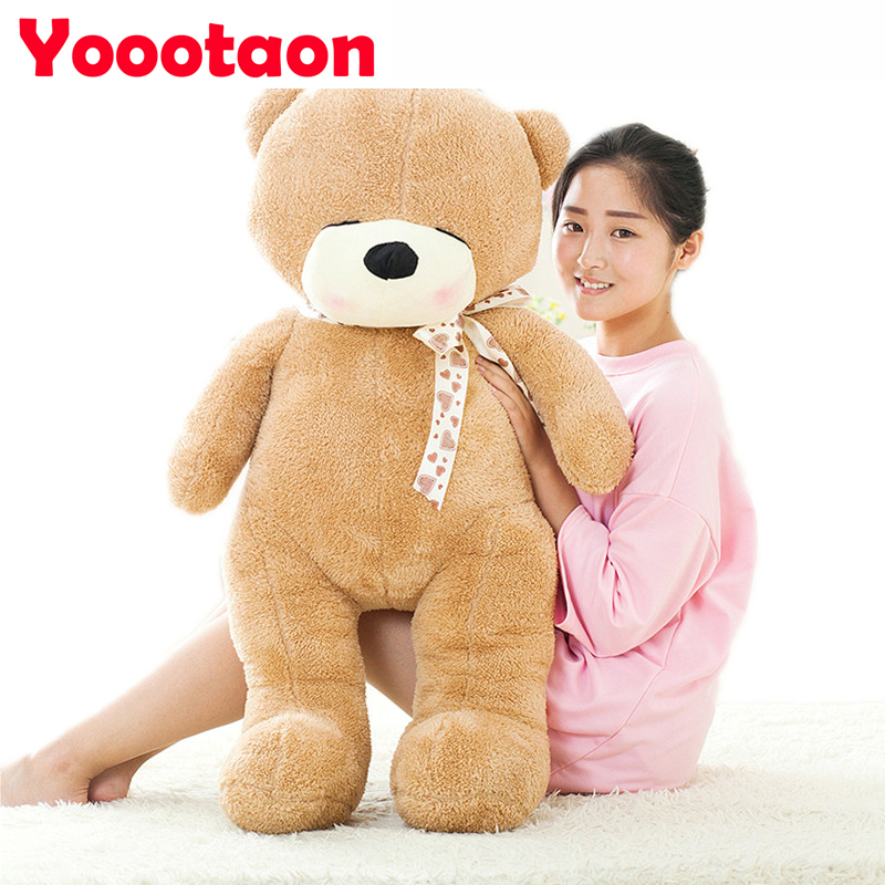 Giant Teddy bear 100cm Fashion coat Kawaii girl plush bear toys High-quality girls toys stuffed dolls for children girls gifts fancytrader big giant plush bear 160cm soft cotton stuffed teddy bears toys best gifts for children