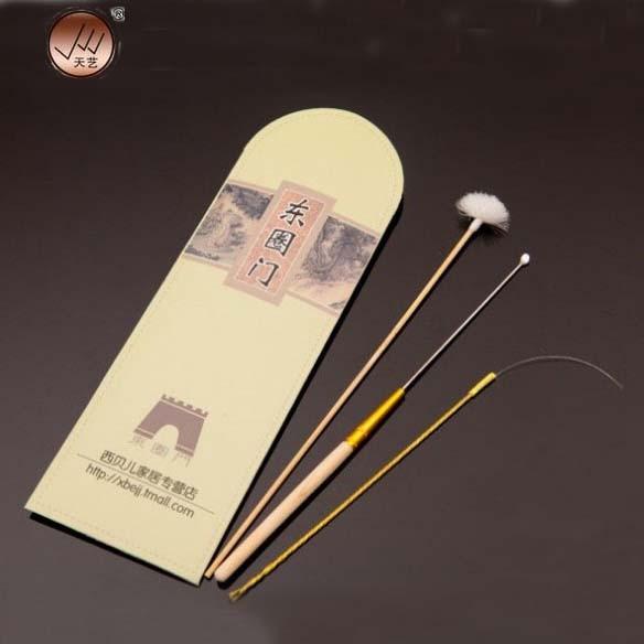 3pcs Bamboo Ear Pick Cleaner Ear Care Tool