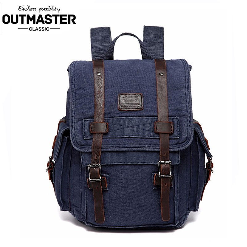 2017 Spring British Style Canvas Bag Fashion Casual Women Multifunctional Travel Canvas Bag Vintage School Bags