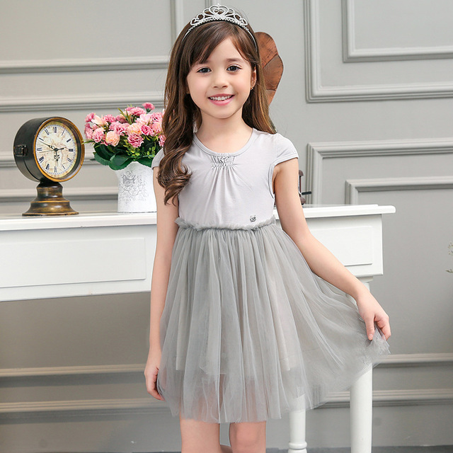 Akane Candy Dolls Illusion: Candydoll Girls Dresses Summer Dress Gray Tutu Dress