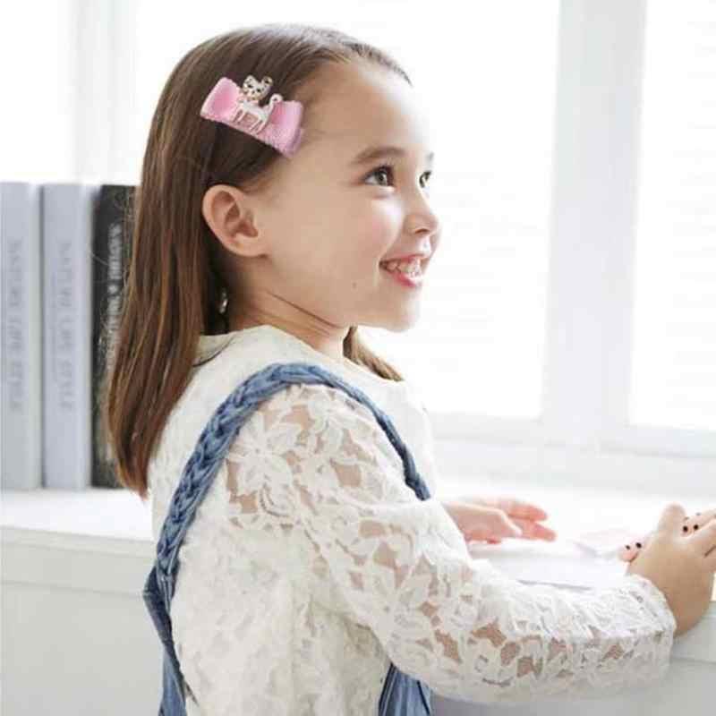 Broches de pelo de princesa para niñas con lentejuelas de fruta de estilo 25