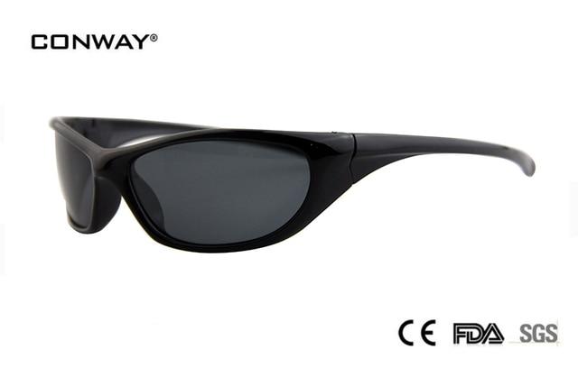 1768a8c7477 CONWAY TR90 outdoor sport sunglasses polarized men   women brand designer  quality running  fishing   golf sun glasses 030