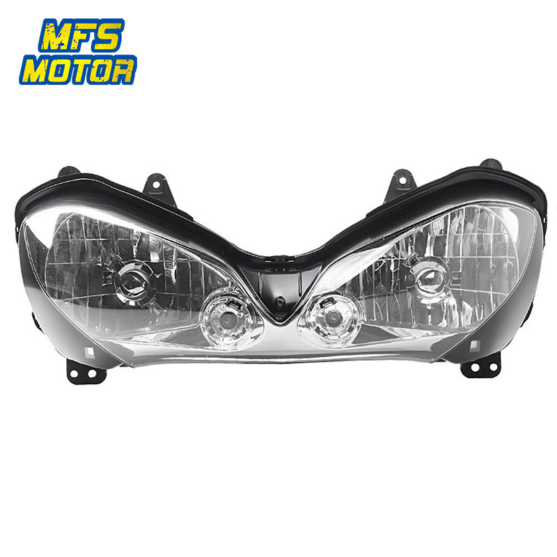 все цены на Headlight For 04-05 Kawasaki Ninja ZX-10R ZX10R Motorcycle Front Lamp Assembly Upper Headlamp Head Light Housing 2004 2005 онлайн