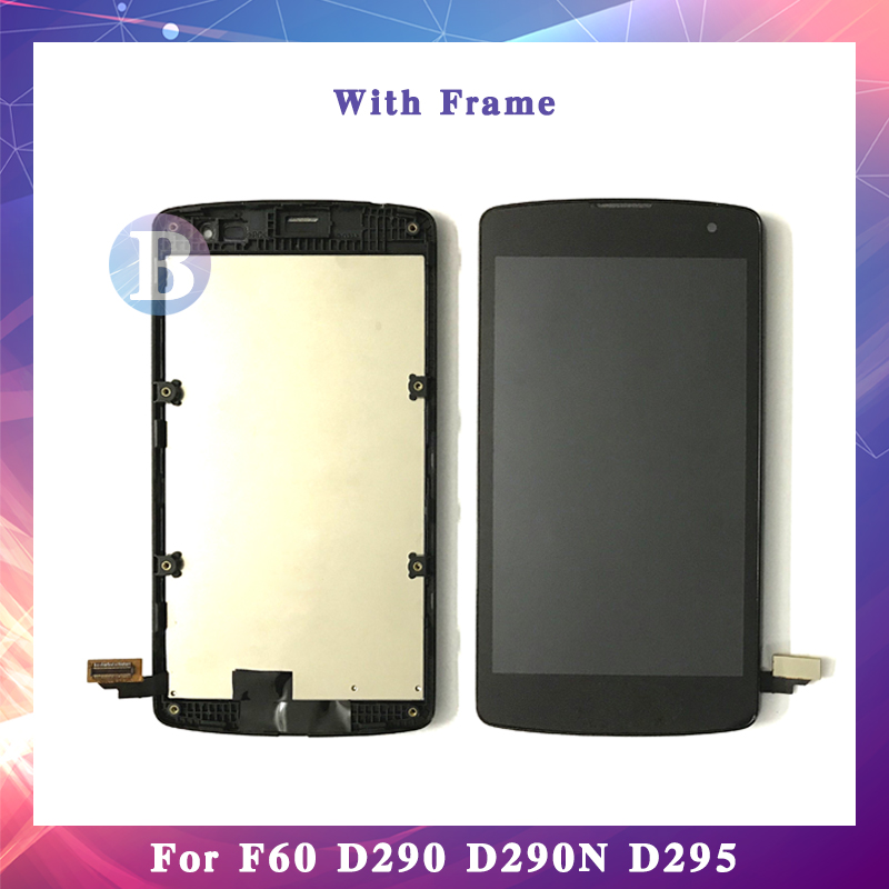 4.5 For LG L Fino F60 D290 D290N D295 LCD Display Screen With Touch Screen Digitizer Assembly High Quality4.5 For LG L Fino F60 D290 D290N D295 LCD Display Screen With Touch Screen Digitizer Assembly High Quality