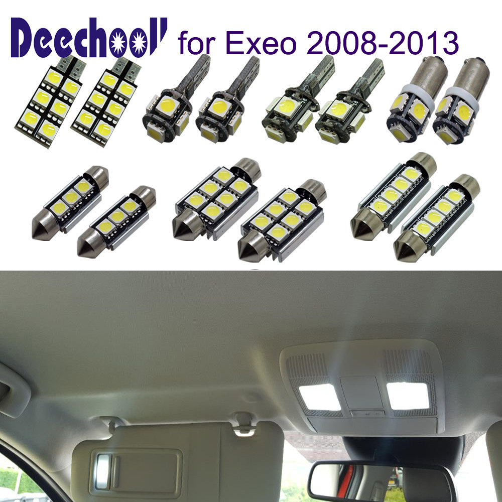 2x Seat Exeo 3R2 Bright Xenon White LED Number Plate Upgrade Light Bulbs