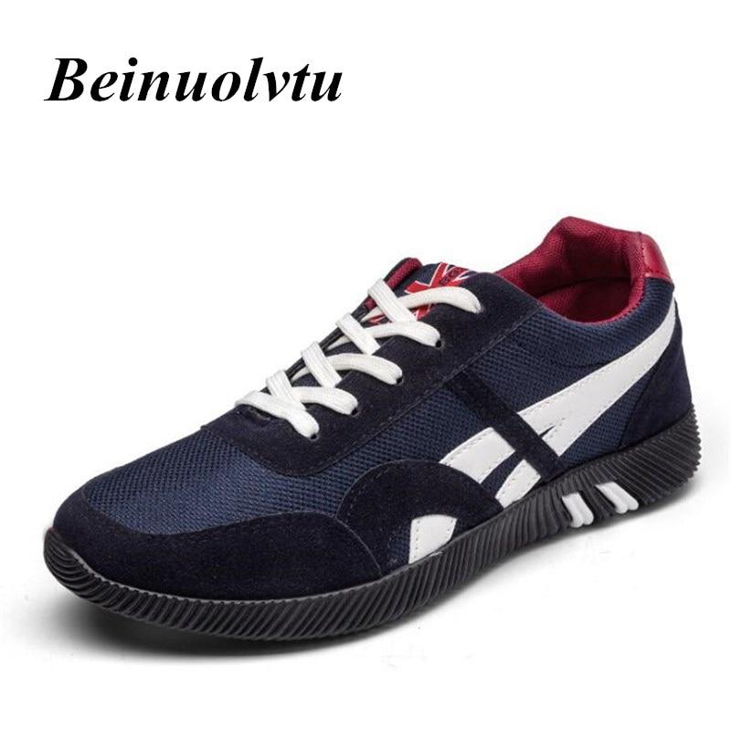 Zapatillas de lona para los hombres Zapatillas de deporte y zapatos Planos Respi
