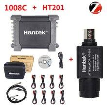 Hantek Oscilloscope Programmable-Generator HT201 1008C Attenuator Automotive 8-Channels