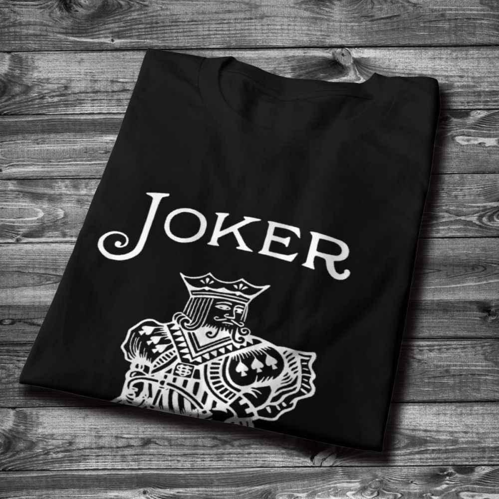 Мужская футболка с круглым вырезом, Джокер, хип-хоп, для мужчин, хлопок, La Camiseta, размер США, S-6XL