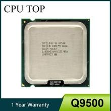 Processador intel core 2 quad q9500 2.83ghz 6mb 1333mhz soquete 775 cpu 100% trabalho