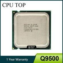 Процессор Intel Core 2 Quad Q9500 2,83 ГГц 6 Мб 1333 МГц разъем 775 ЦП 100% рабочий