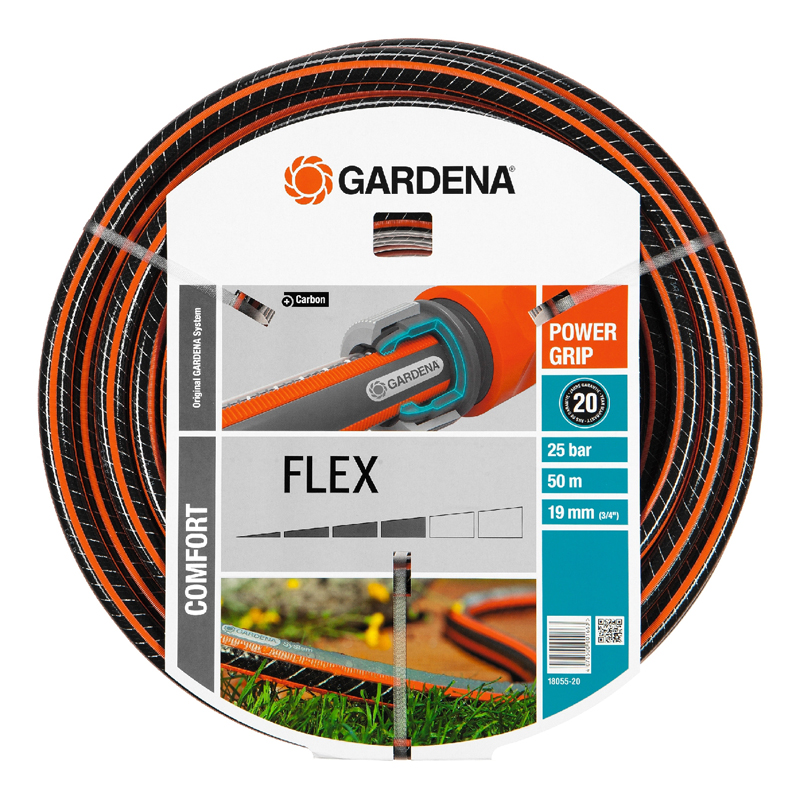 цена на Hose поливочный GARDENA 18055-20.000.00 (Length 50 m, diameter 19mm (3/4) maximum pressure 25 bar, reinforced, светонепроницаем, resistant to ultraviolet radiation)