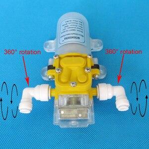 Image 3 - 5L/Min 60W water purifier pump 12v water pump pressure switch
