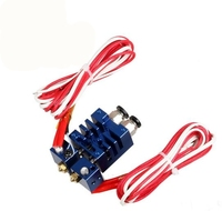 3D Printer Parts Improved Version 2 In 2 Out Hotend Dual Color SwitchingHotend Kit 0 4mm