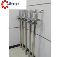 ss Transfer Pneumatic Air Barrel Drum Pump pressure reducing valve and condensate separator and liquid flow measuring device