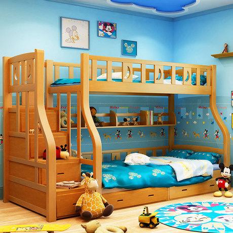 Kinder Bett Kinder Möbel massivholz kinder betten kind bett chambre ...