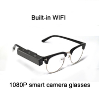NEW 1080P 16GB Multi function smart bluetooth glasses Hd video camera Blinking photo glasses Built in WIFI for Mobile phone