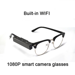 NEW 1080P 16GB Multi-function smart bluetooth glasses Hd video camera Blinking photo glasses Built-in WIFI for Mobile phone
