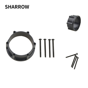 Image 1 - 1pc Archery Adapter Compound Bow Sight Scope Rail Adapter Set Used For Shooting Aiming Accessory